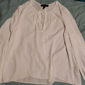 Forever 21+ Sheer Peasant Blouse Size 2X